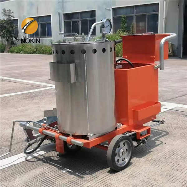 360 Hand Push Road Marking Paint Applicator Machine for Road Line
